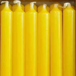 Bougies pour bougeoirs Nagel, BMF, Stoff - Citron