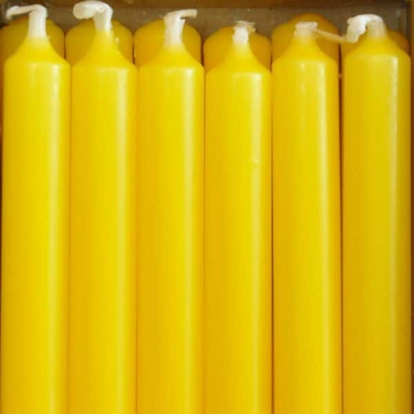 12 bougies - Citron