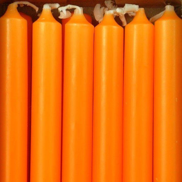 12 bougies - Mandarine