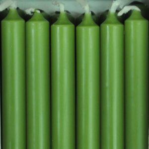 12 bougies - Vert chasseur