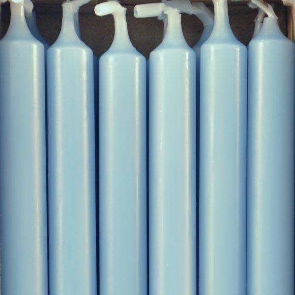 12 bougies - Bleu pastel