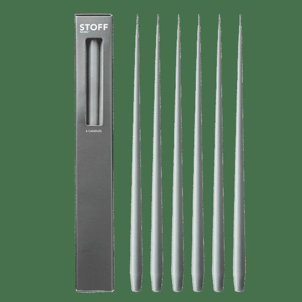 6 bougies STOFF - Acier