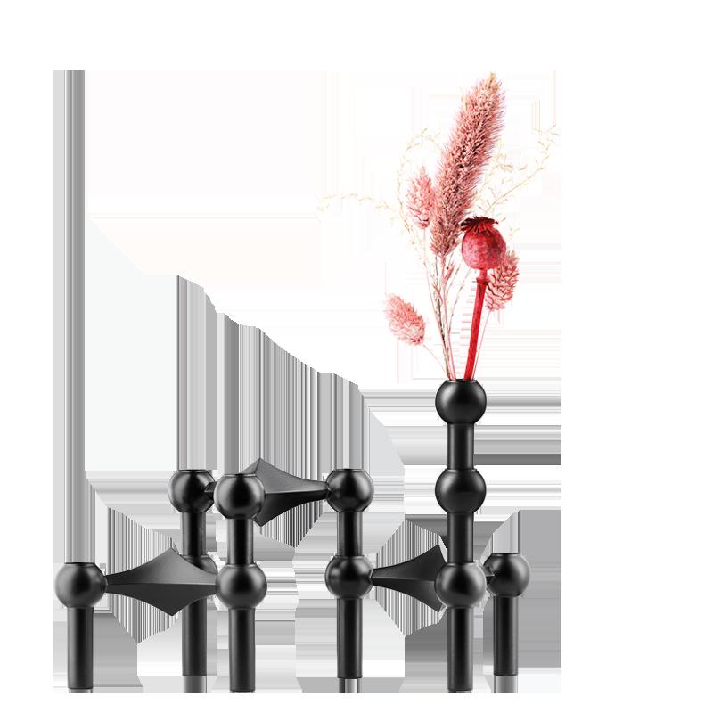 Vase STOFF noir
