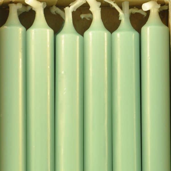 12 bougies - Vert d'eau