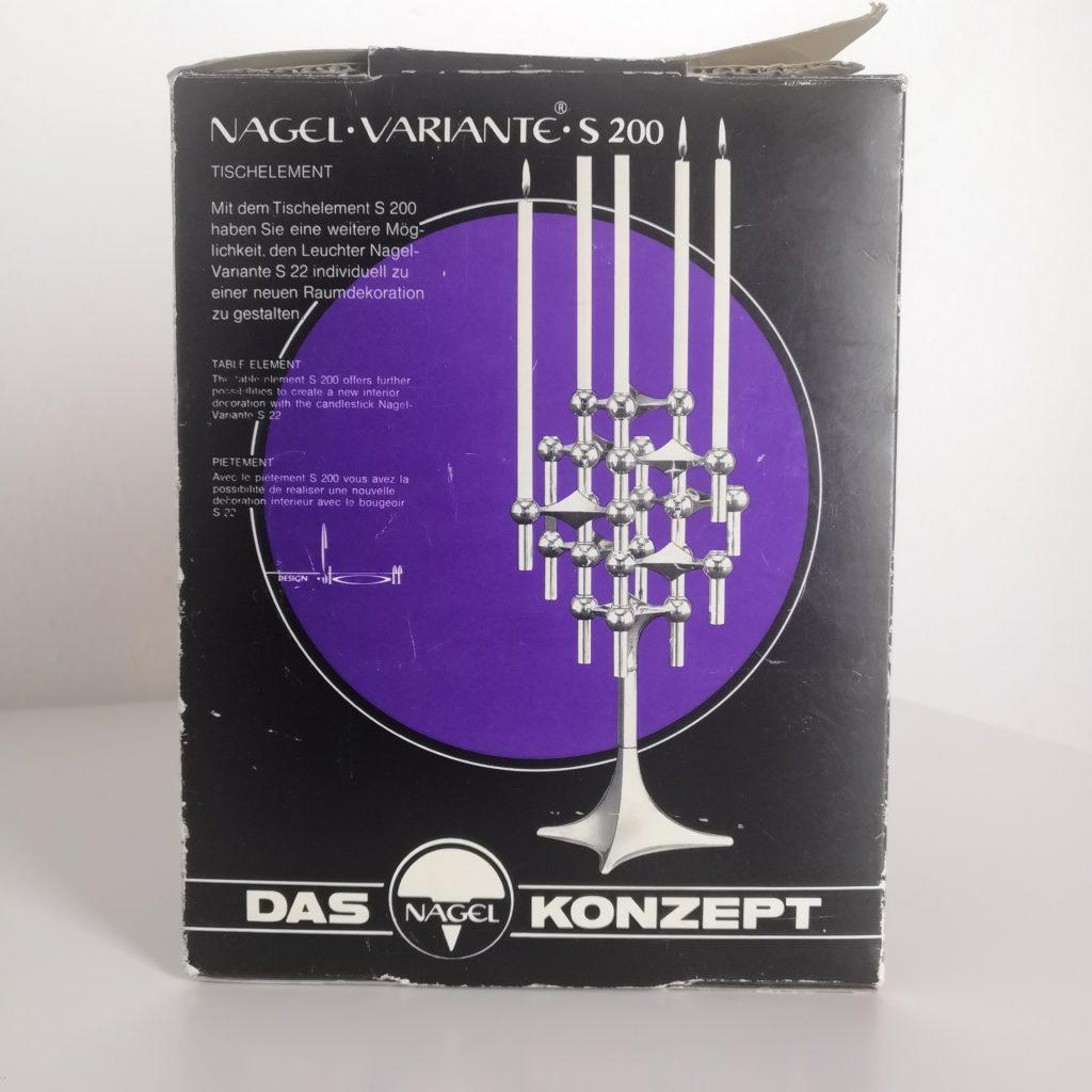 Pied Nagel S200 avec boîte d'origine